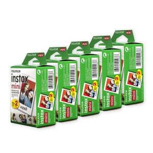 FUJIFILM wide film INSTAX WIDE K5 - 20 sheets x 5 boxes (100 sheets)