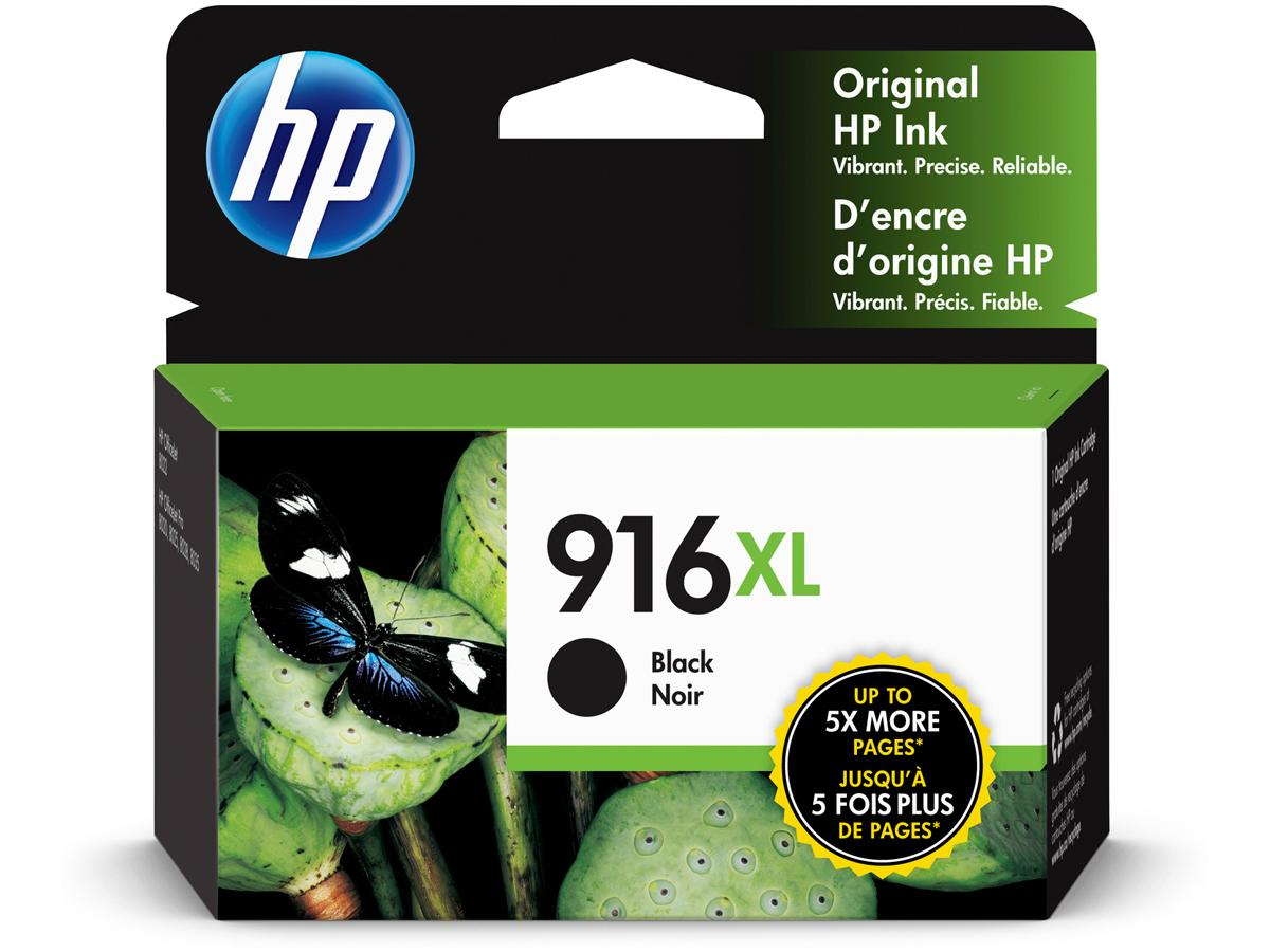 HP 916XL Black Original Ink Cartridge (3YL66AN)