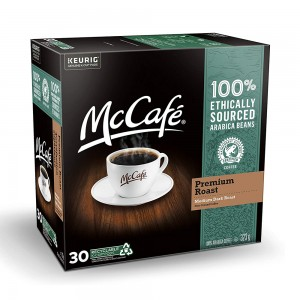 McCafé® Premium Roast Single Serve Recyclable  K-Cup® Pods (30 Pack)