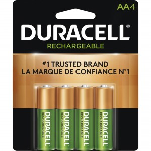 Duracell DX1500 General Purpose AA Batteries - 4/Pack