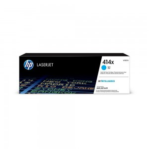 HP Original Cyan Toner Cartridge for 414X (W2021X)