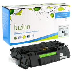 Fuzion New Compatible Black Toner Cartridge replacement for HP (Q5949A)