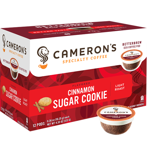 Cameron's Cinnamon Sugar Cookie Single Serve Coffee (12Pack)