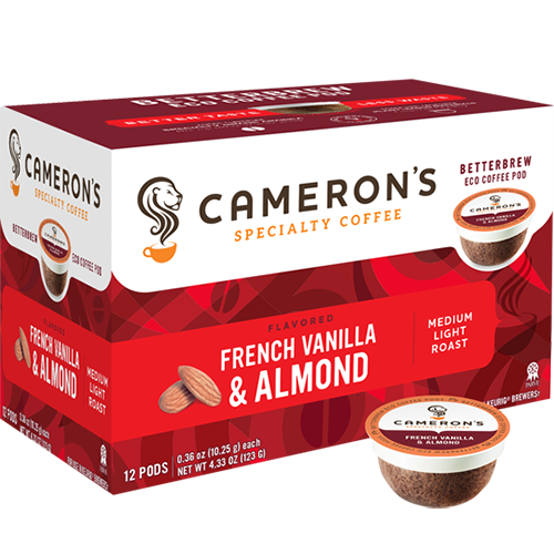 Cameron's French Vanilla Almond Single Serve Coffee (12Pack)