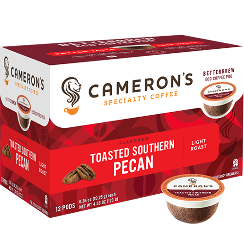 Cameron's Toasted Southern Pecan Single Serve Coffee (12Pack)