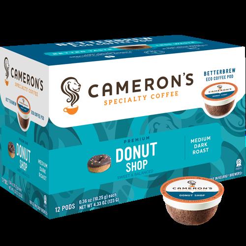Cameron's Donut Shop Single Serve Coffee (12Pack)