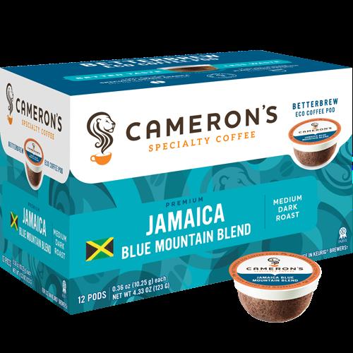 Cameron's Jamaica Blue Mountain Blend Single Serve Coffee (12Pack)