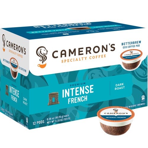 Cameron's Intense French Single Serve Coffee (12Pack)