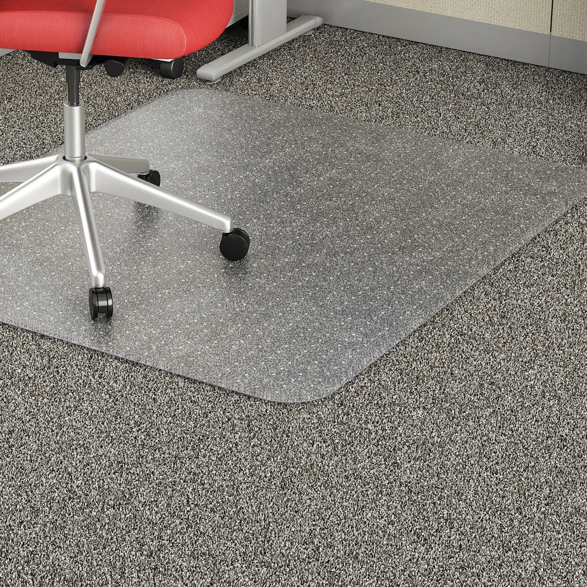 Lorell Rectangular Low-pile Economy Chairmat 60 x 46