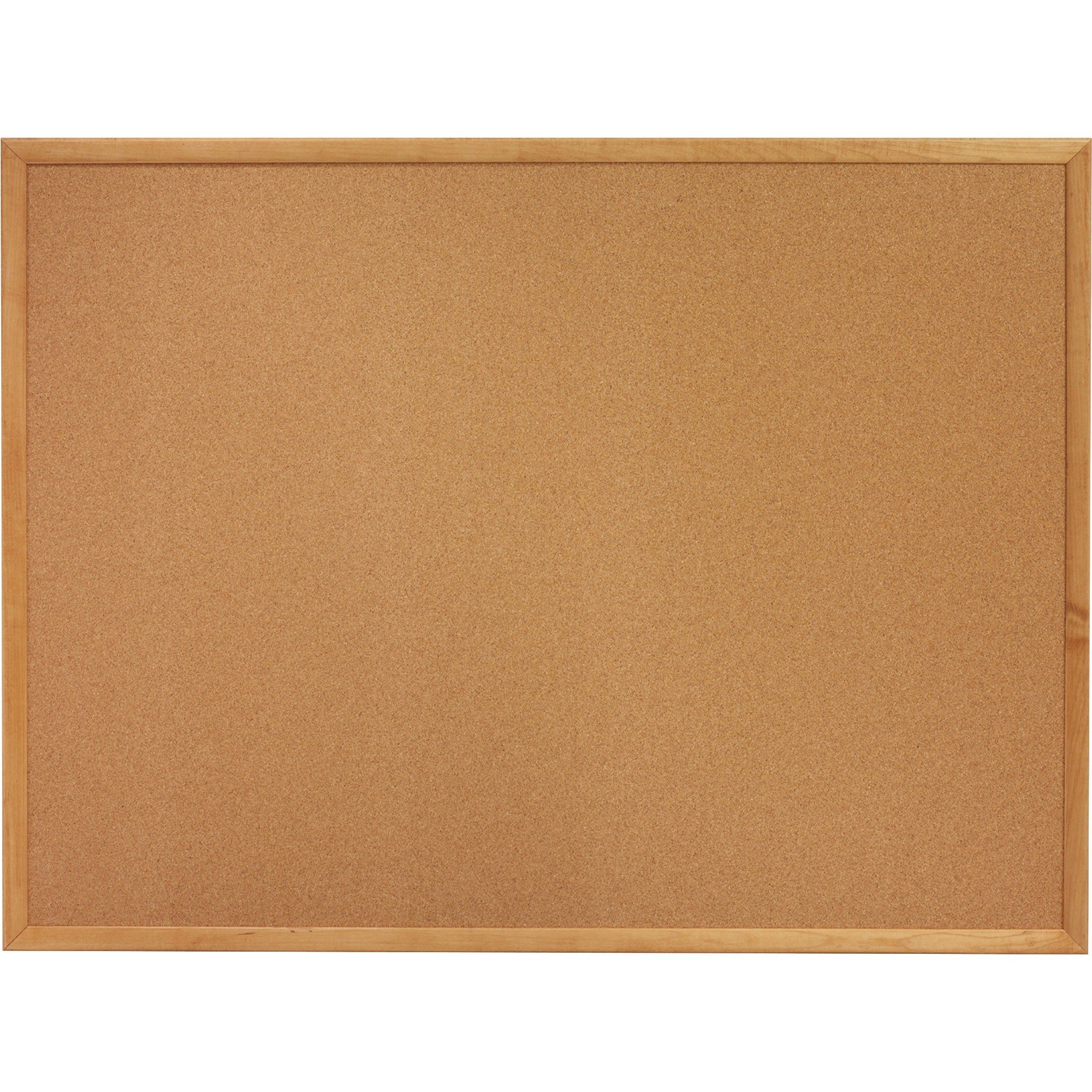 "Sparco Oak Wood Frame Cork Board 36"" x 24"""