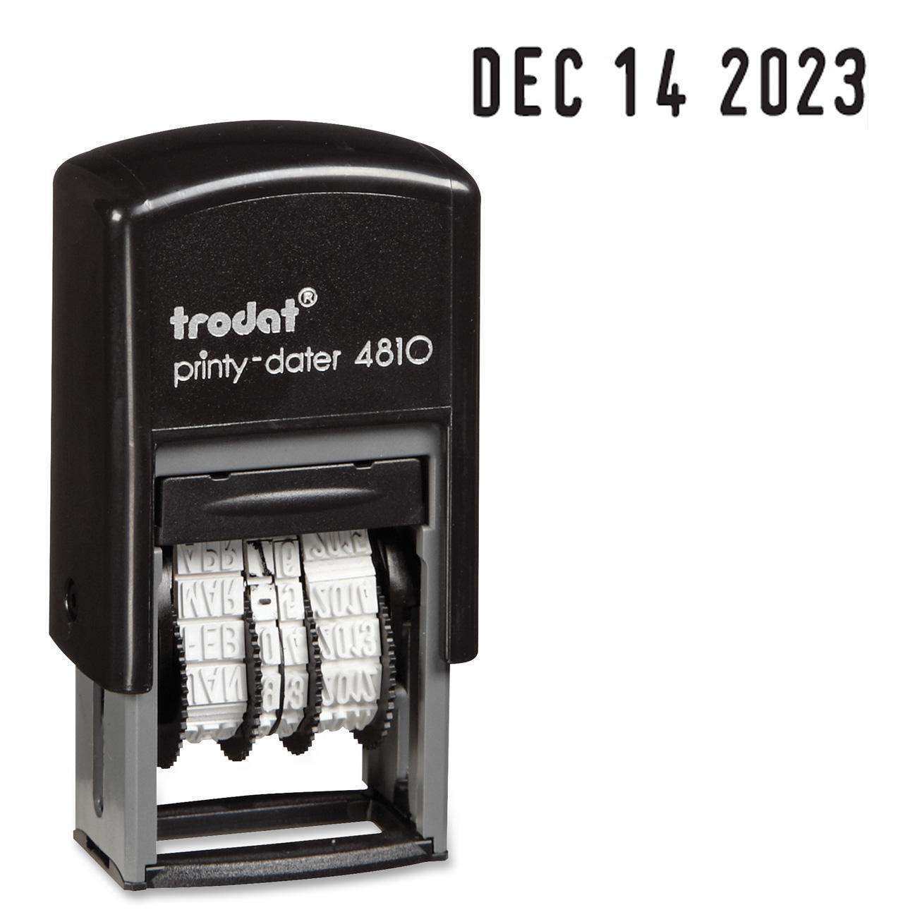 Trodat Printy Pocket Self Ink Date Stamp - Each