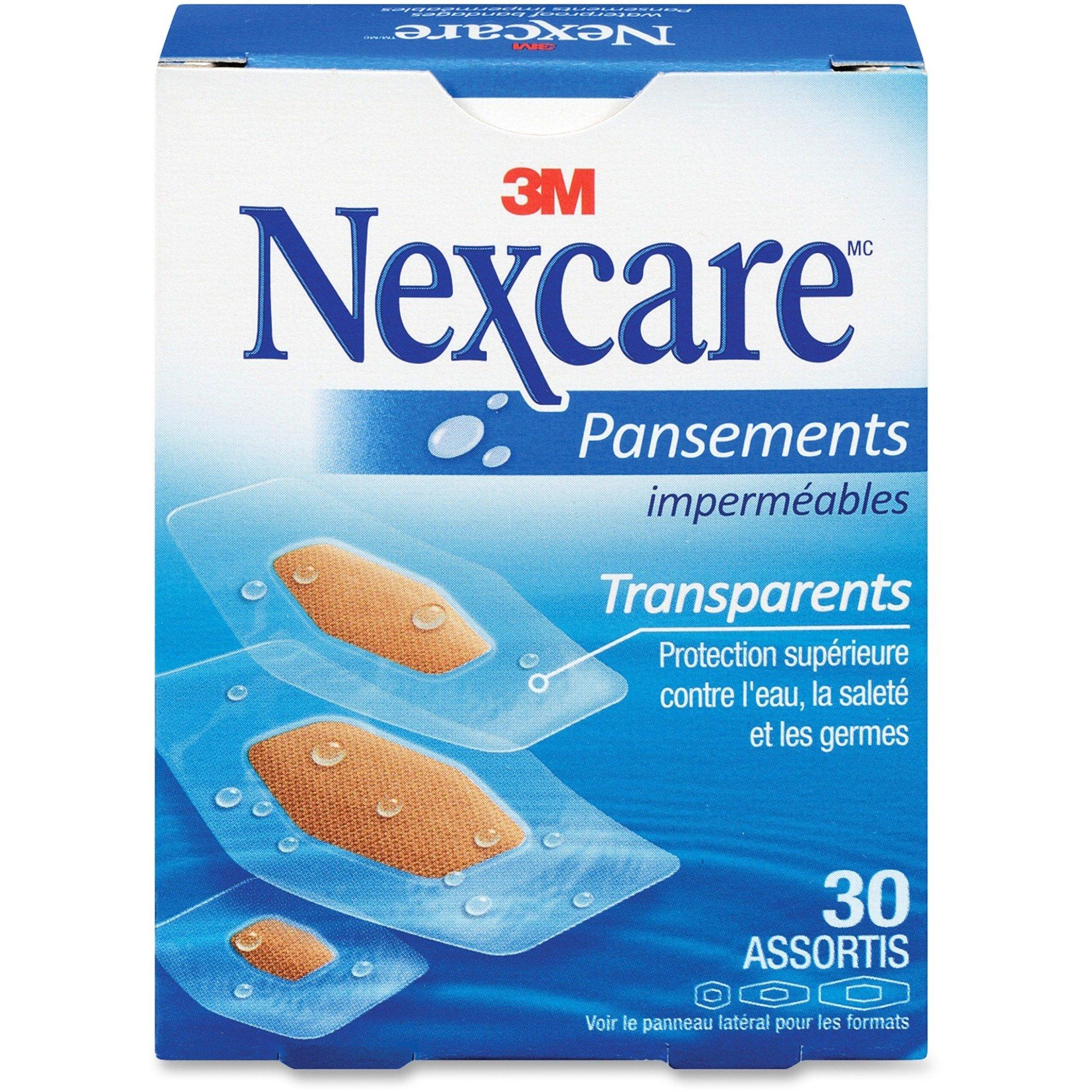 3M Nexcare Clean Seal Waterproof Bandage - 30/Box