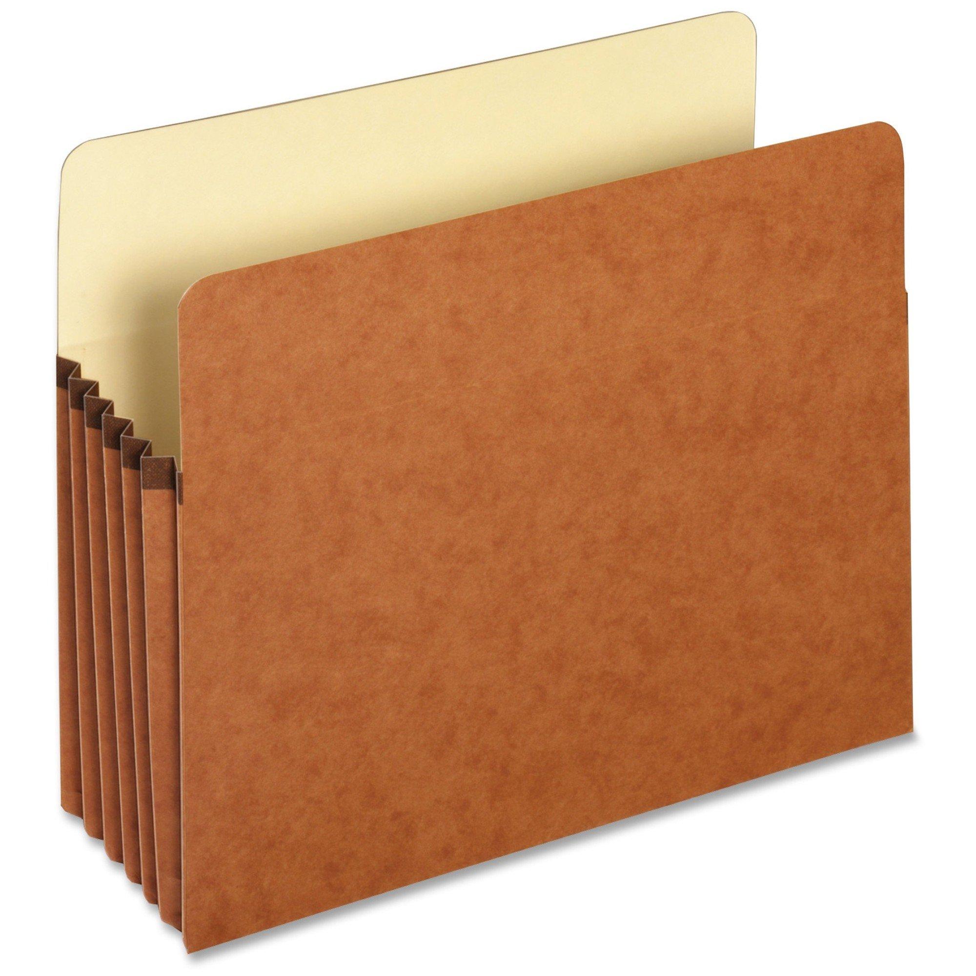 "Pendaflex® Straight-Cut File Pocket, Letter Size, 5-1/4"" Expansion"