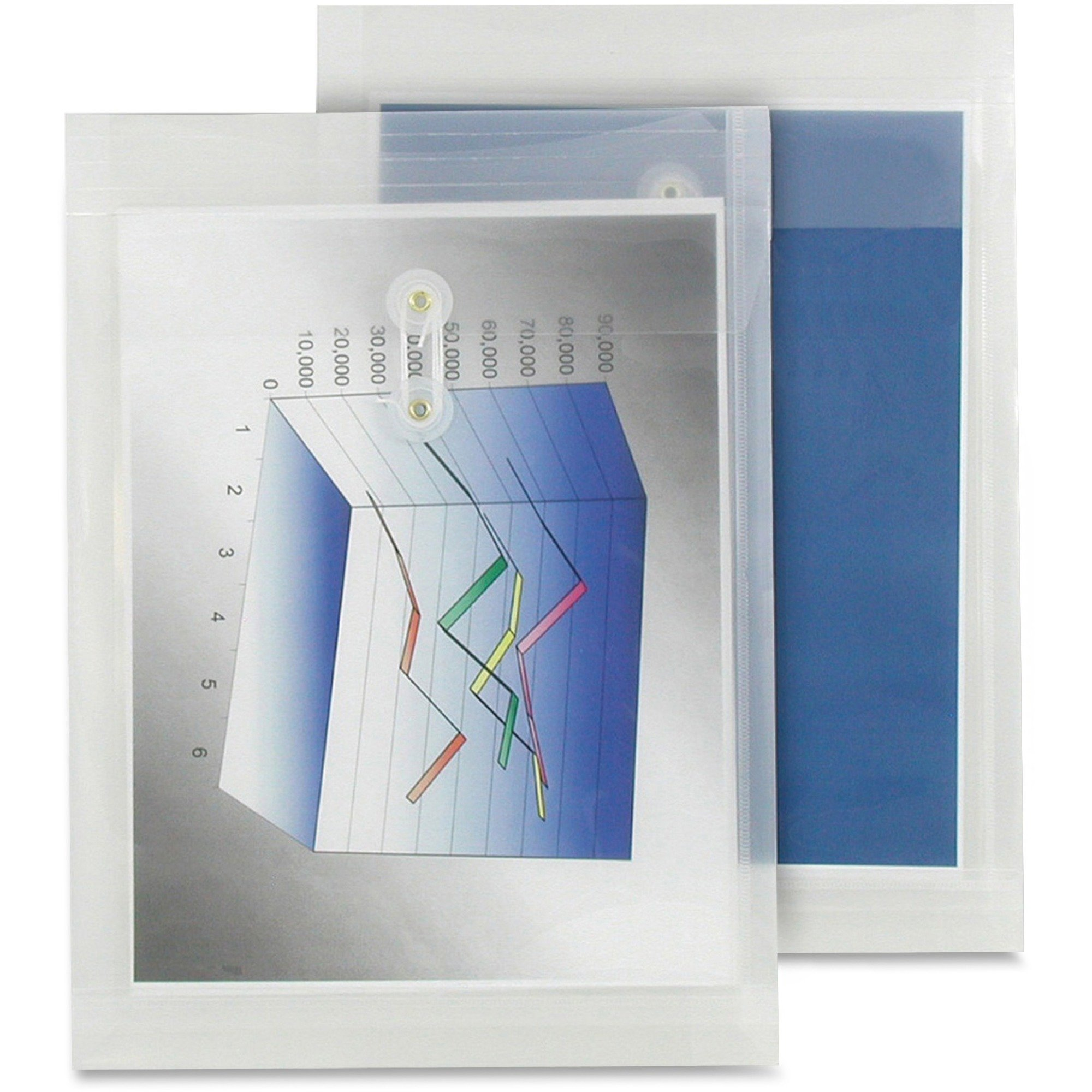 Winnable Transparent Poly Inter-Department Envelope 9 1/2 x 13 - Each