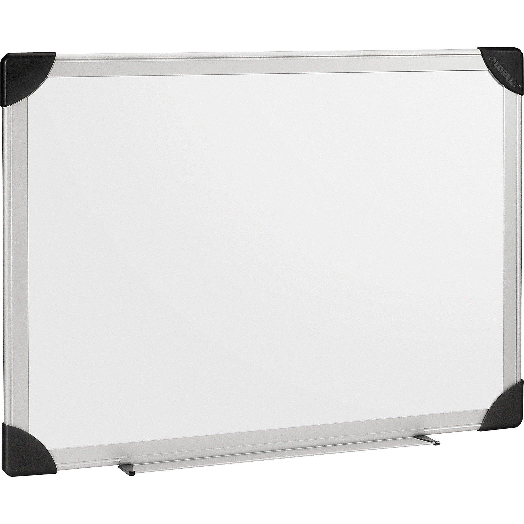 Lorell Aluminum Frame Dry-erase White Board