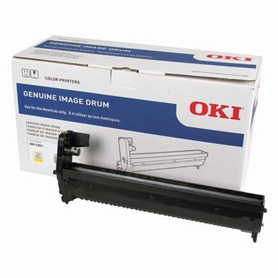Okidata Original Yellow Drum Imaging Unit Cartridge for 44844413