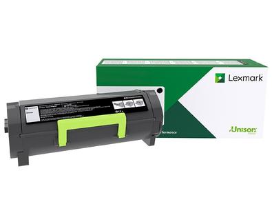 Lexmark Original Black Return Program Toner Cartridge, Extra High Yield (50F1X00)