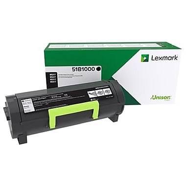 Lexmark Original Black Toner Cartridge for MS/MX 317-617 (51B1000)