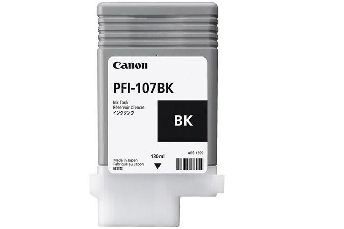 Canon Original 130 ml Pigment Black Ink Tank PFI-107BK