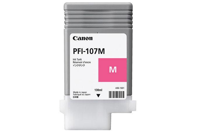 Canon Original 130 ml Pigment Magenta Ink Tank PFI-107M