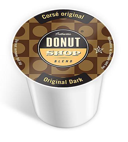 Authentic Donut Shop - Original Dark Coffee (24 Pack)