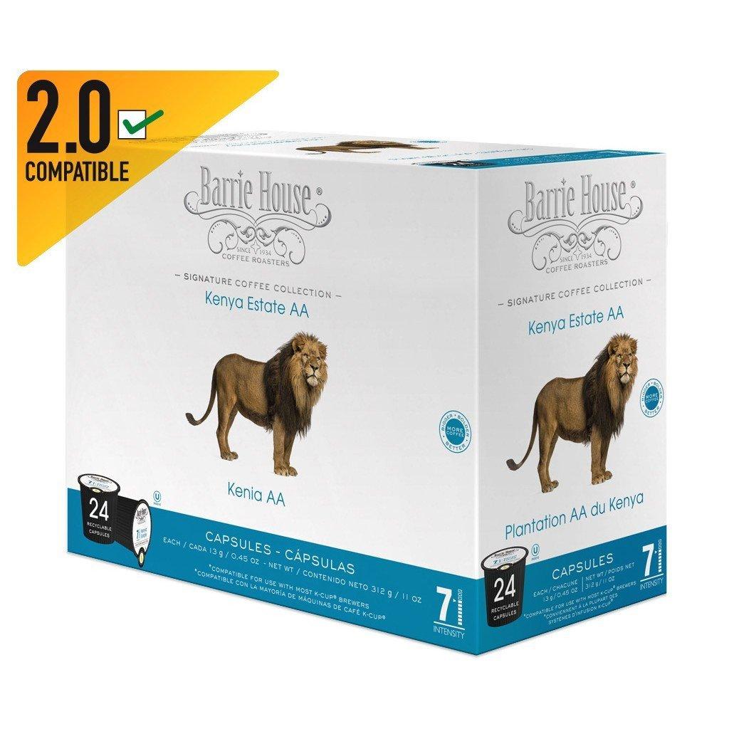 Barrie House Kenya Estate-AA Single Serve Coffee Cups (24 Pack)