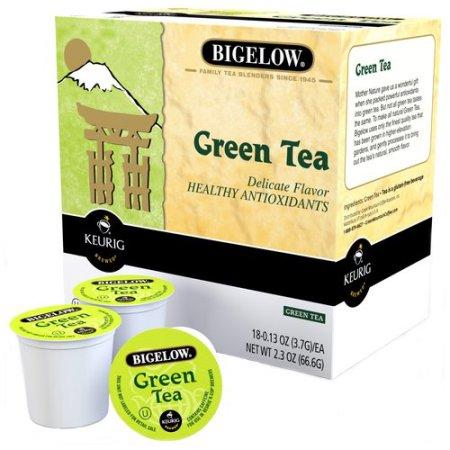 Bigelow® Green Tea Single Serve Tea Pods (24 Pack)