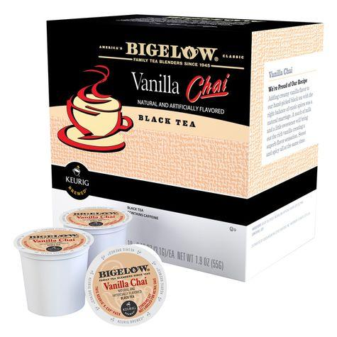 Bigelow® Vanilla Chai Tea Single Serve Tea Pods (24 Pack)