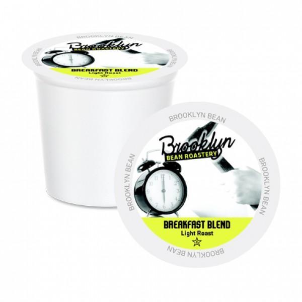 Brooklyn Bean Breakfast Blend Single Serve Coffee Cups (24 Pack)