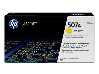 HP Original Yellow Toner Cartridge for HP (CE402A)