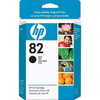 HP 82 Original Black Ink Cartridge (CH565A)