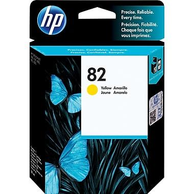 HP 82 Original Yellow Ink Cartridge (CH568A)