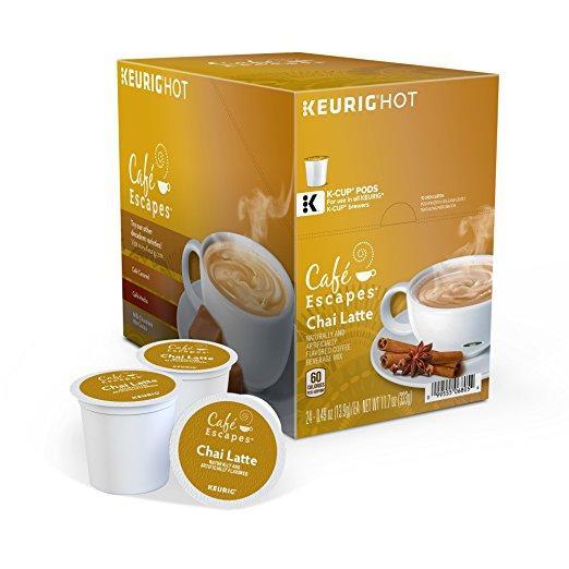 Cafe Escapes® Chai Latte Single Serve Cups (24 Pack)