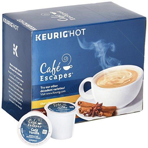 Cafe Escapes® Cafe Vanilla Single Serve Cups (24 Pack)