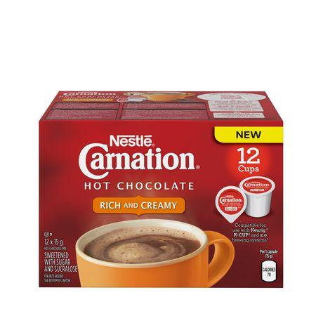 Carnation Hot Chocolate Single Serve Single Serve Cups (12 Pack)