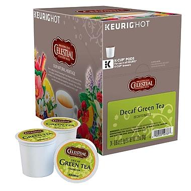 Celestial Seasonings® Green Tea Decaf Tea K-Cup® Pods (24 Pack)