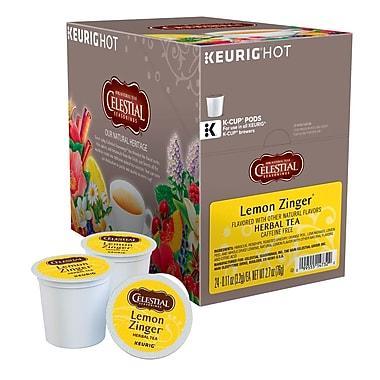 Celestial Seasonings® Lemon Zinger Tea K-Cup® Pods (24 Pack)