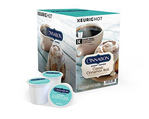 Cinnabon® Classic Cinnamon Roll K-Cup® Pods (24 Pack)