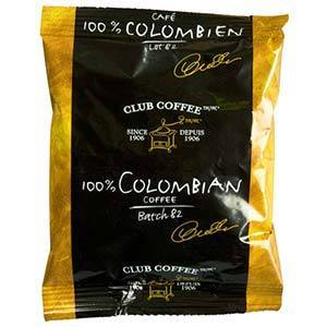 Club Coffee 100% Colombian Ground Coffee (42 packs x 2 oz)