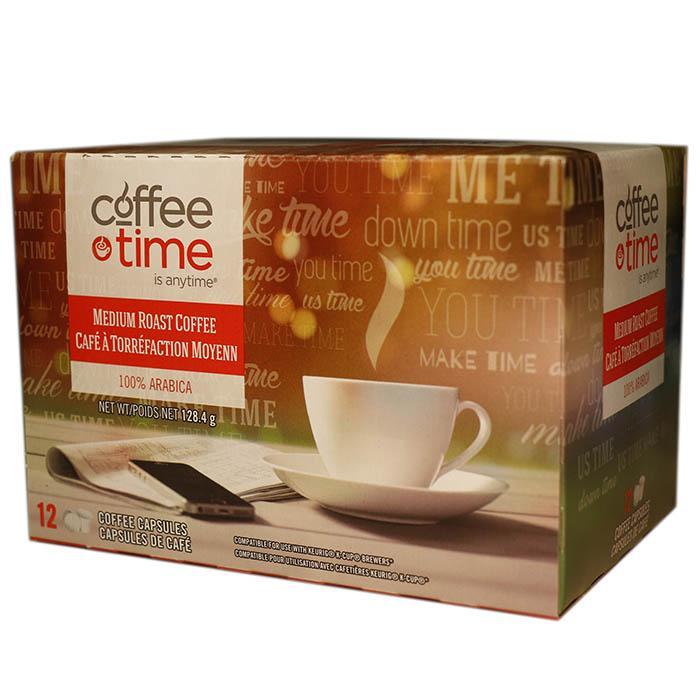 Coffee Time Medium Roast Single Serve Coffee (24 Pack)