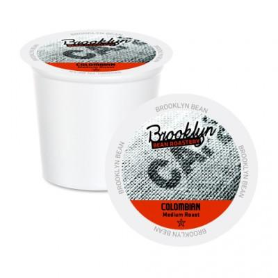 Brooklyn Bean Colombian Single Serve Coffee Cups (24 Pack)