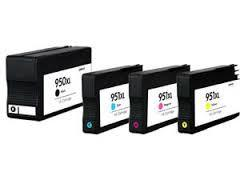 Premium New Compatible Ink Cartridges Combo Pack (BK, C, M, Y) for HP (C2P01FN#140)