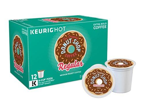 The Original Donut Shop Sweet and Creamy Single Serve Coffee (12 Pack)