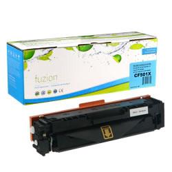 Fuzion New Compatible Cyan Toner Cartridge for HP CF501X