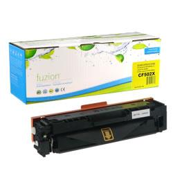 Fuzion New Compatible Yellow Toner Cartridge for HP CF502X
