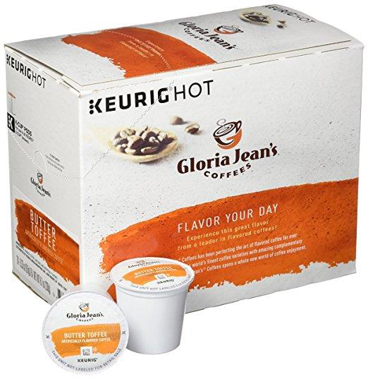 Gloria Jean's® Butter Toffee K-Cup® Pods (24 Pack)
