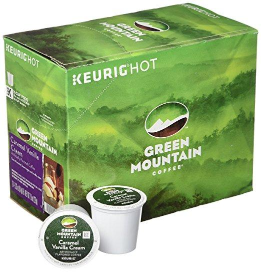 Green Mountain Coffee® Caramel Vanilla Cream Single Serve K-Cup® Pods (24 Pack)