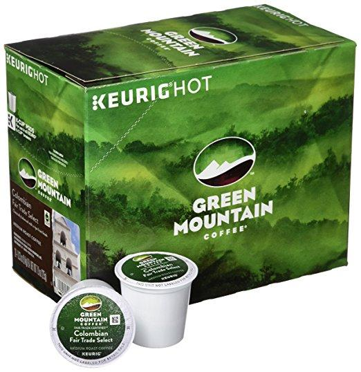 Green Mountain Coffee® Colombian Fair Trade Single Serve K-Cup® Pods (24 Pack)