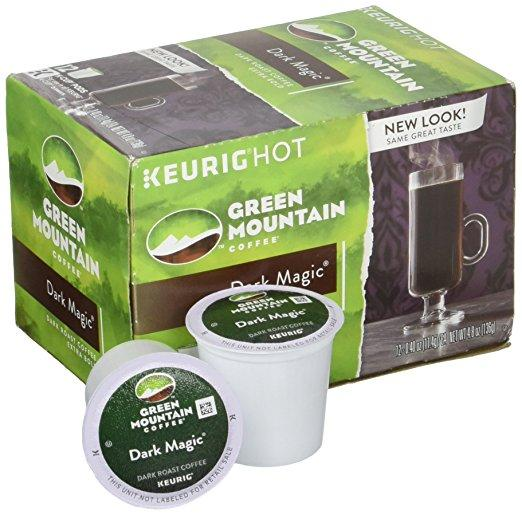 Green Mountain Coffee® Dark Magic Extra Bold Single Serve K-Cup® Pods (24 Pack)