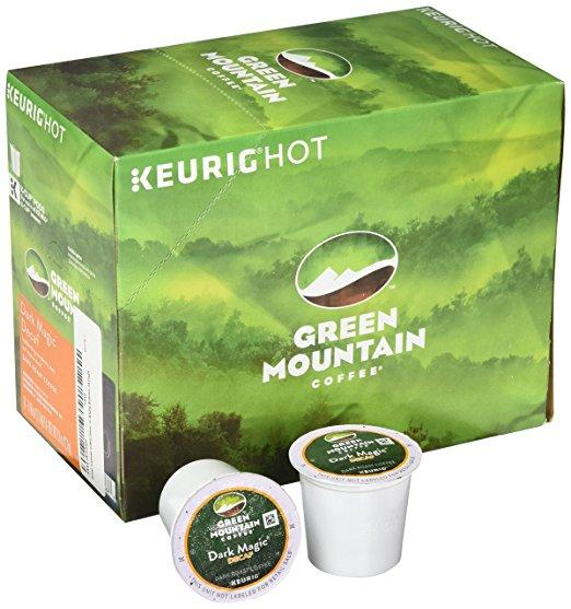 Green Mountain Coffee® Dark Magic Extra Bold Decaf Single Serve K-Cup® Pods (24 Pack)